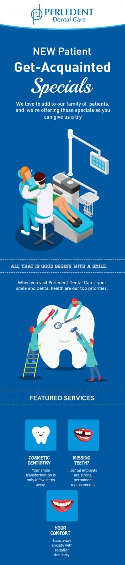 Visit Perledent Dental Care to Get Acquainted Dental Care Services