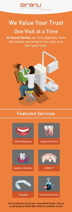 Siranli Implants & Facial Aesthetics – A Trusted Dental Practice in Washington, DC