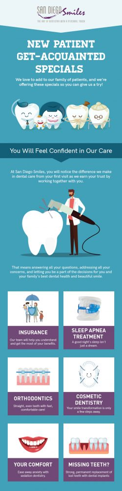 Get Outstanding Dental Care Services for Your Family from San Diego Smiles