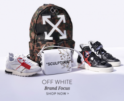 Off-White Collection from Level Shoes