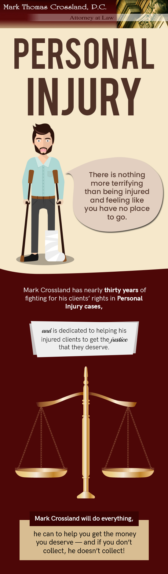 Mark Thomas Crossland, P.C. – A Team of Woodbridge's Trusted Personal Injury Attorneys