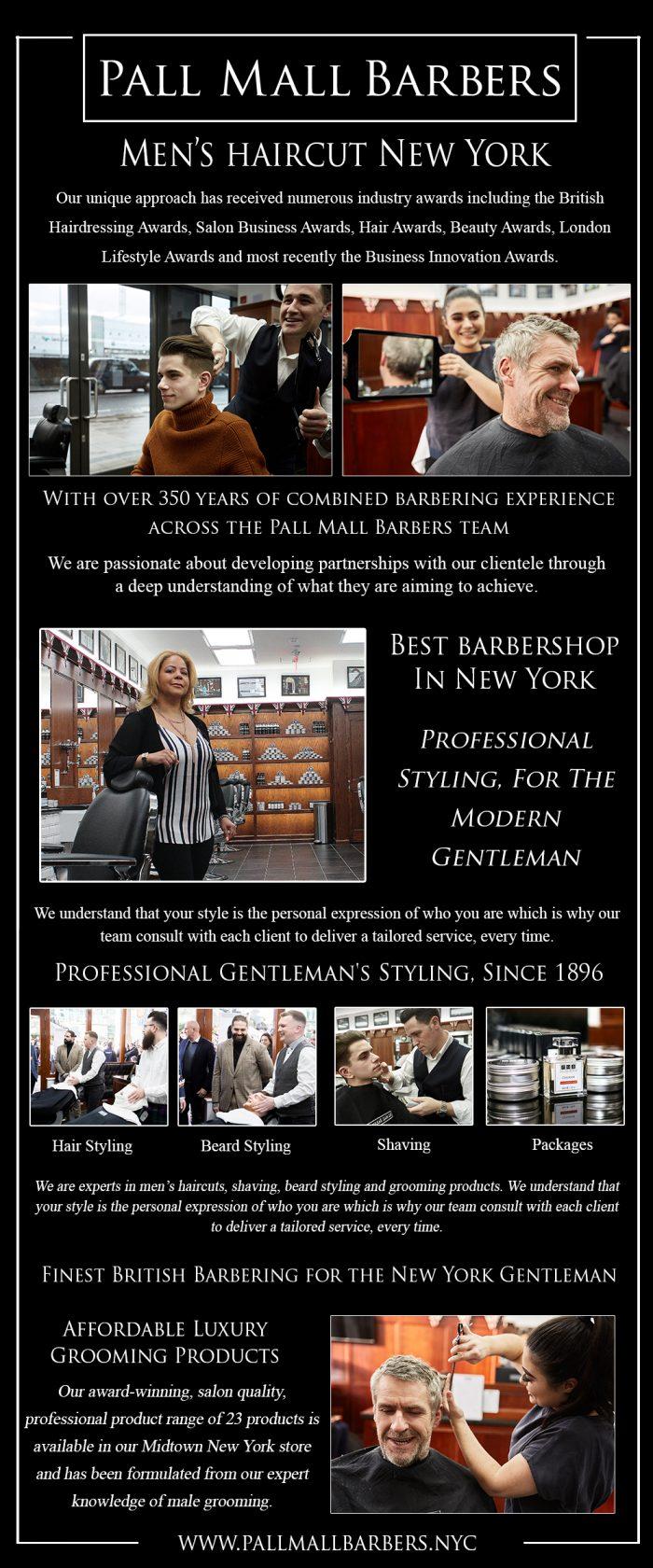 Men's Haircut in New York