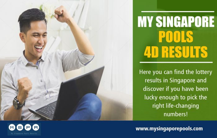 My Singapore Pools 4d Results