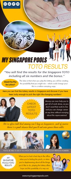 My Singapore Pools Toto Results