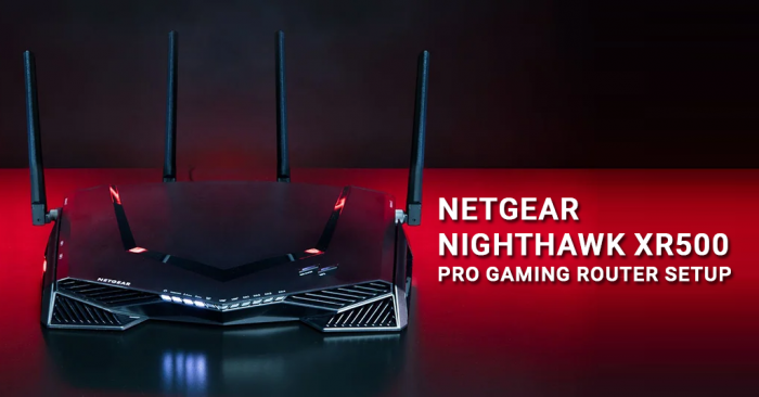 Netgear Nighthawk XR500 Pro Gaming Router Setup