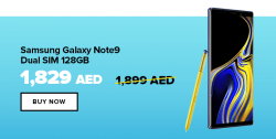 Samsung Galaxy Note9 AED 1,829 Only at Noon+ Coupon Code