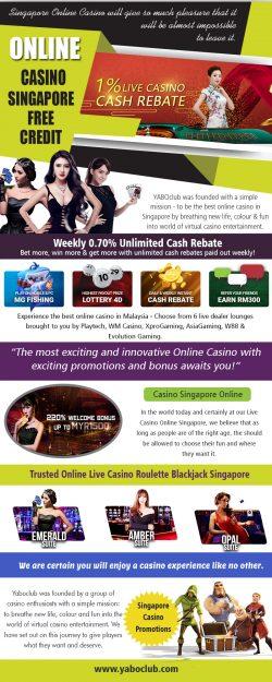 OInline Casino Singapore Free Credit