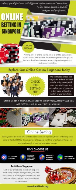 Online Betting Singapore | Call – 65 8136 9998 | bet888win.org