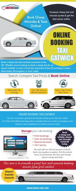 Online Booking Taxi Gatwick