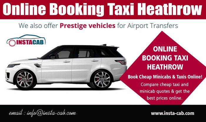 Online Booking Taxi Heathrow