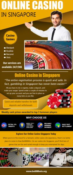 Online Casino Singapore | Call – 65 8136 9998 | bet888win.org