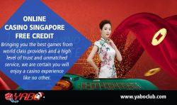 Online Casino Singapore Free Credit