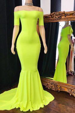 Fashion Abendkleider Lang Mit Ärmel | Abendmoden Günstig Online