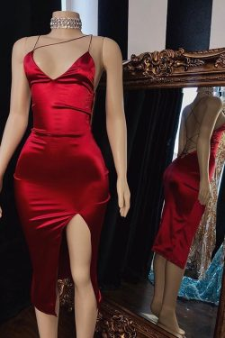 Elegante Abiballkleider Kurz Rot | Abendkleider Günstig Online