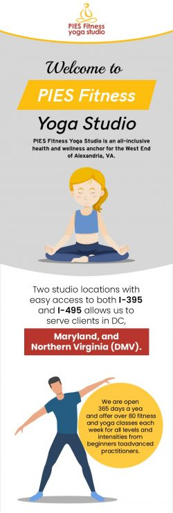PIES Fitness Yoga Studio – Alexandria's Trusted Yoga & Wellness Studio