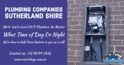 plumbing companies Sutherland Shire