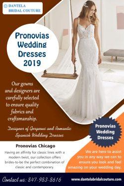 Pronovias wedding dresses 2019