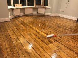 Old Floor Sanding & Staining