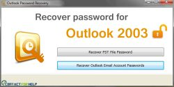 Know How You Can Recover your Password for Outlook 2003