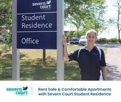 Rent Safe & Comfortable Apartments with Severn Court Student Residence