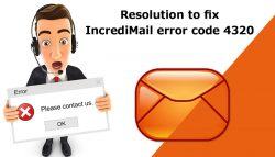 Resolution to fix Incredimail Error Code 4320
