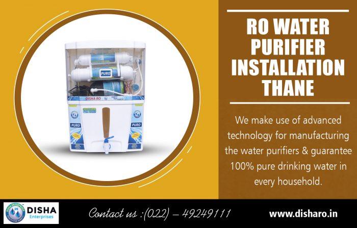 RO Water Purifier Installation Thane