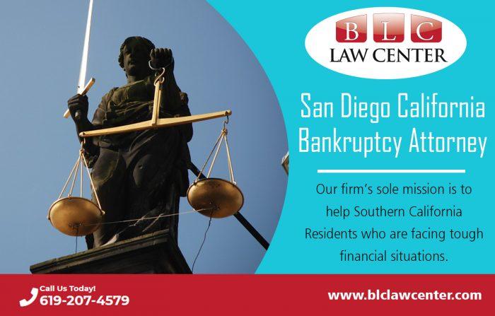 San Diego California Bankruptcy Attorney  (619) 207-4579   blclawcenter.com