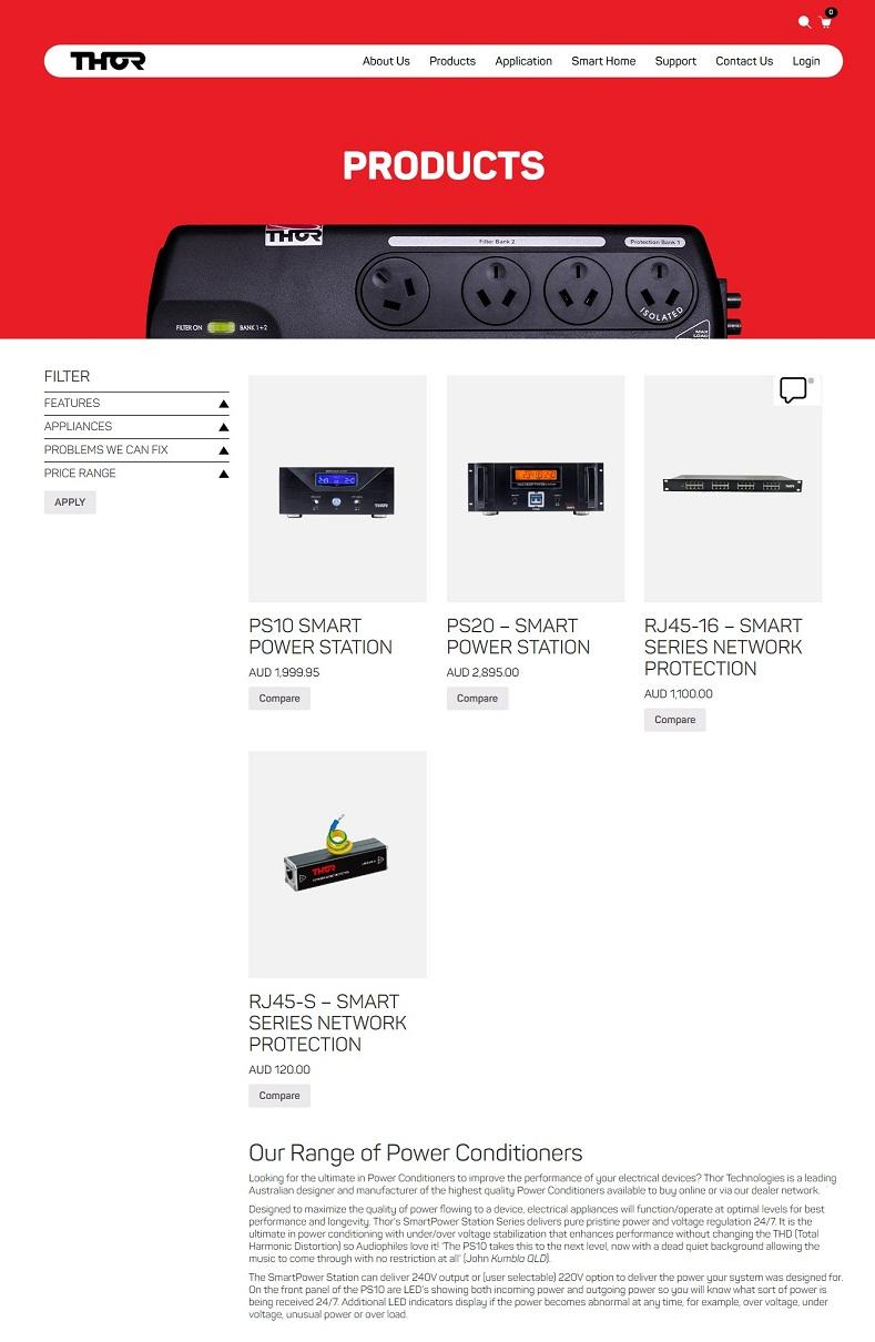 Audio power conditioner
