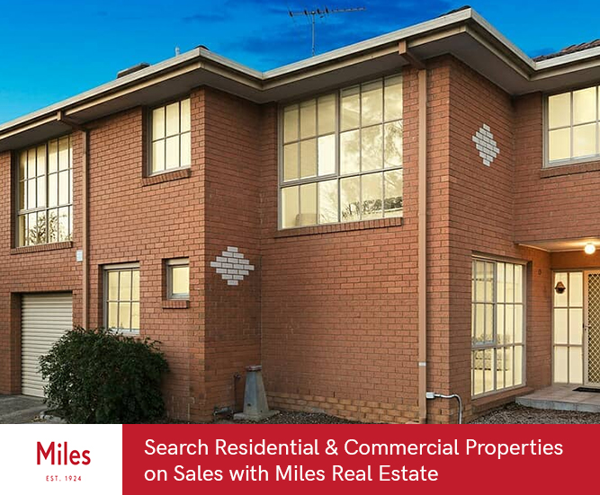 Search Residential & Commercial Properties on Sales with Miles Real Estate
