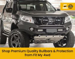 Shop Premium Quality Bullbars & Protection from Fit My 4wd