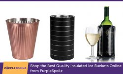 Shop the Best Quality Insulated Ice Buckets Online from PurpleSpoilz