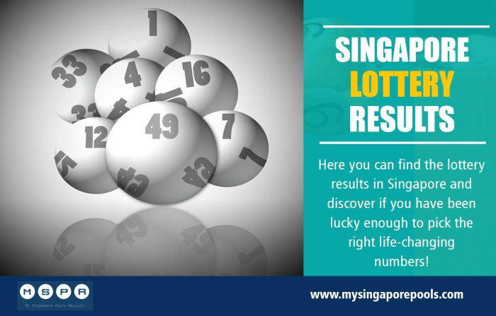 Singapore Lottery Results