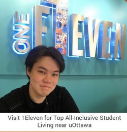 Visit 1Eleven for Top All-Inclusive Student Living near uOttawa