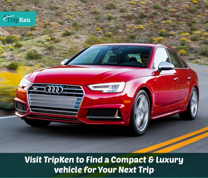 Visit TripKen to Find a Compact & Luxury Vehicle for Your Next Trip