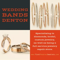 Wedding Bands Denton | Call – 940 383-3032 | FirstPeoplesJewelers.com