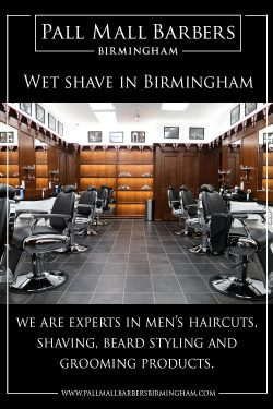 Wet Shave in Birmingham | Call 01217941693 | pallmallbarbersbirmingham.com