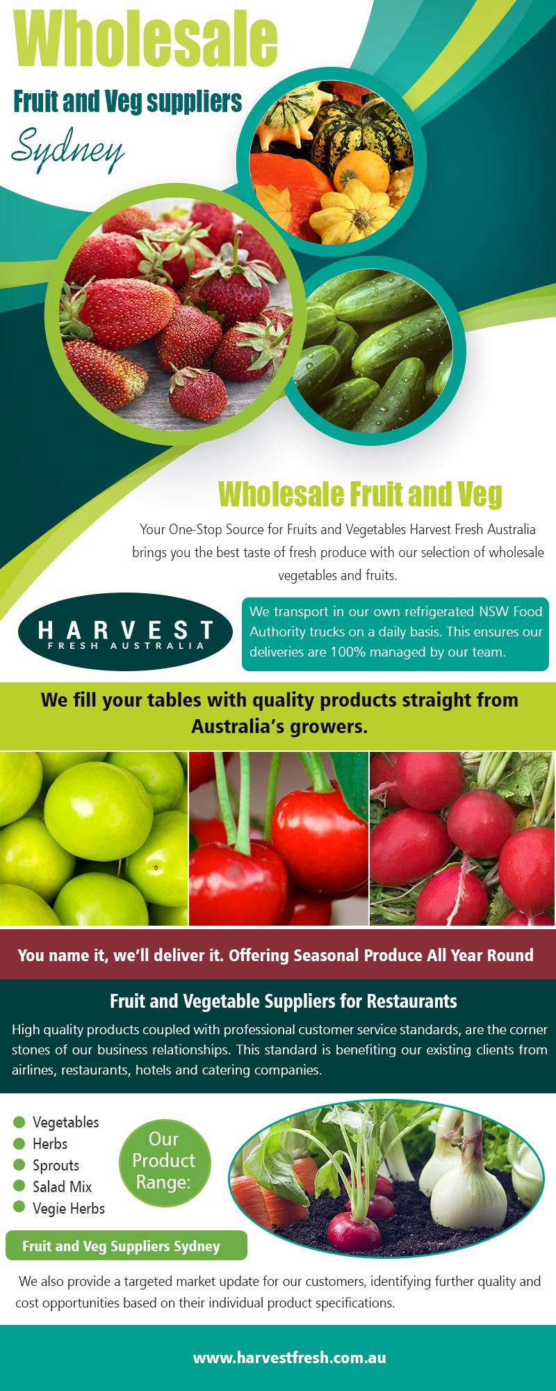 Wholesale Fruit and Veg Suppliers Sydney