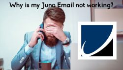 Why is my Juno Email not working?