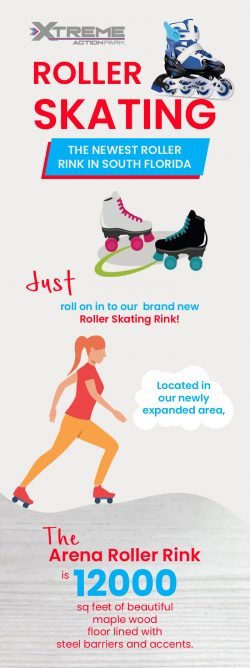 The Newest Roller Rink at Xtreme Action Park