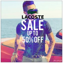 Lacoste UAE Fashion Sale