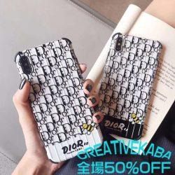 ディオール iPhoneXRケース 蜂 アイフォンXカバー 耐衝撃 iPhonexs maxケース 可愛い Dior