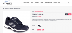Tracker Brand Shoes