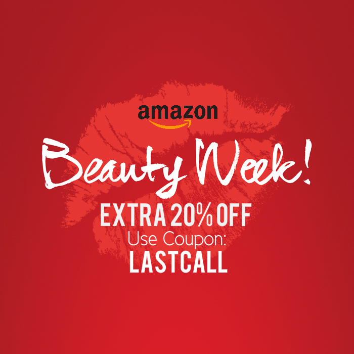 Amazon Beauty Week: Extra 20% OFF