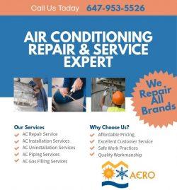 Air Conditioning Repair & Service Expert