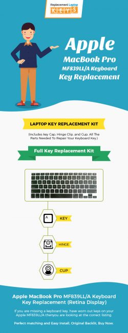 Apple MacBook Pro MF839LL/A Keyboard Key Replacement