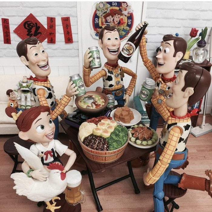 Toy Story – friends reunion 🍻