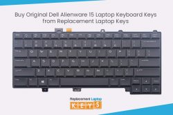 Buy Original Dell Alienware 15 Laptop Keyboard Keys from Replacement Laptop Keys