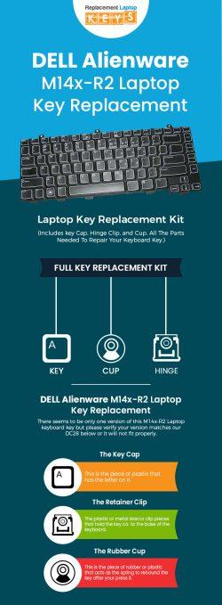 Buy Original DELL Alienware M14x-R2 Laptop Keyboard Keys