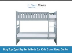 Buy Top Quality Bunk Beds for Kids from Sleep Center