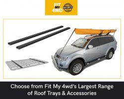 Choose from Fit My 4wd's Largest Range of Roof Trays & Accessories
